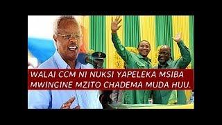 WALAI CCM ni Kiboko, Yapeleka Msiba mzito CHADEMA muda huu, Yaisambaratisha Vibaya dakika za Mwisho