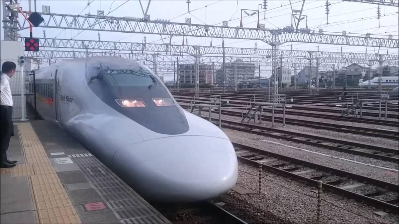 編集失敗してますが、JR博多南駅  自動放送 発車ベルの様子