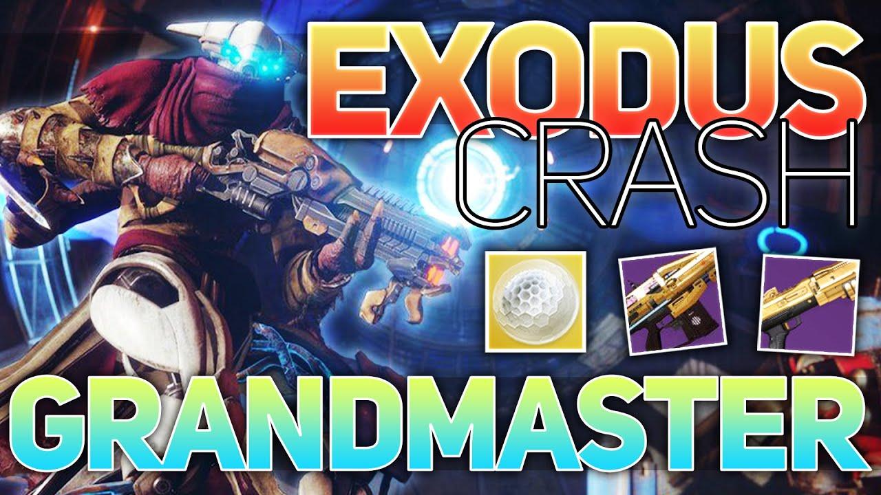 Download Exodus Crash GRANDMASTER (Adept Comedian & Shadowprice)   Destiny 2 Season of the Lost