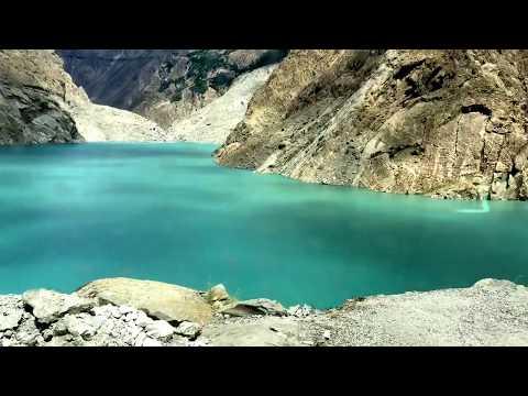 Attabad lake (Hunza, Pakistan) and PakChina tunnel