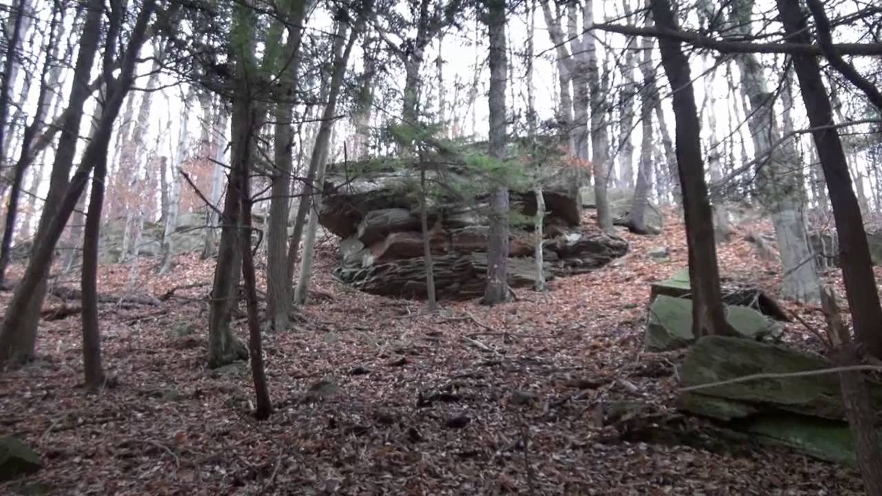 Devil's Garden Rock Formation - Sullivan County PA (near World's End State  Park)