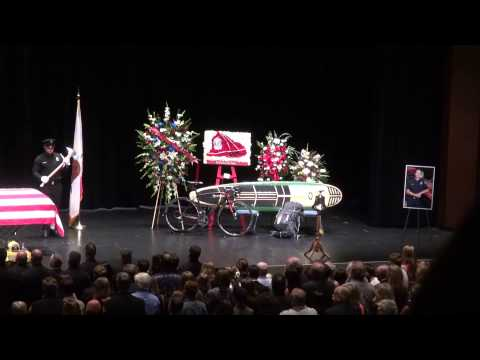 Firefighter Mike Herdman Memorial Service