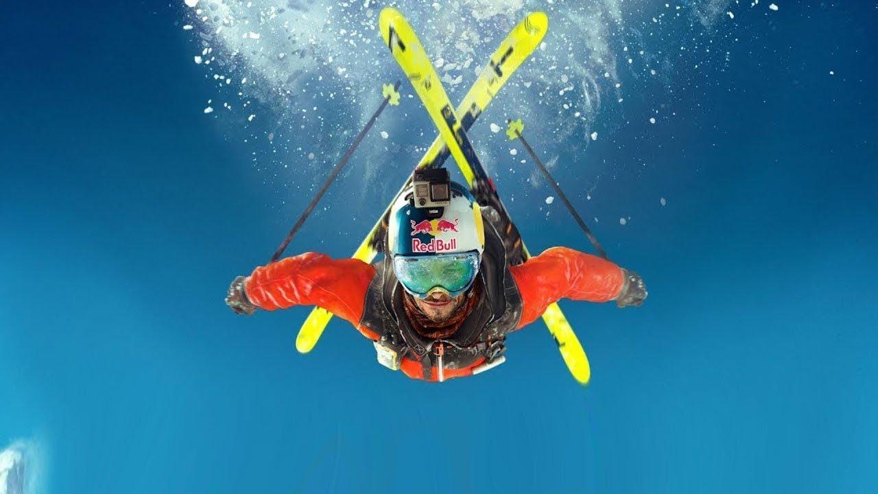 Удивительные и невероятные трюки на лыжах 2018 【Best ski trick】