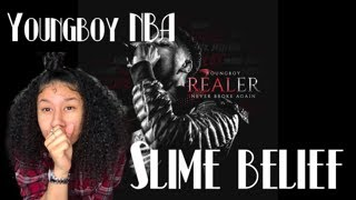 Youngboy NBA - Slime Belief   Reaction Video