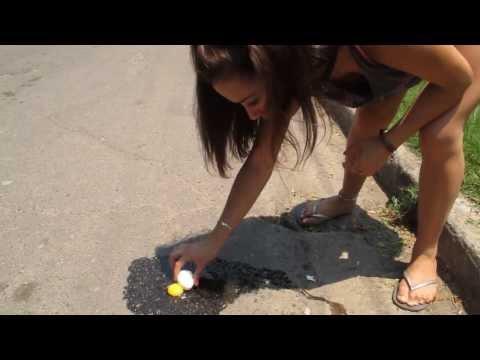 En Argentina podes freir huevos en el asfalto