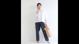 TP044 ドルマンスリーブブラウス Dolman sleeve blouse https://pattern...