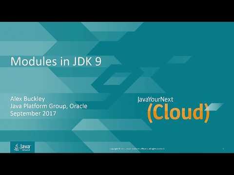 Modules in JDK 9 by Alex Buckl...