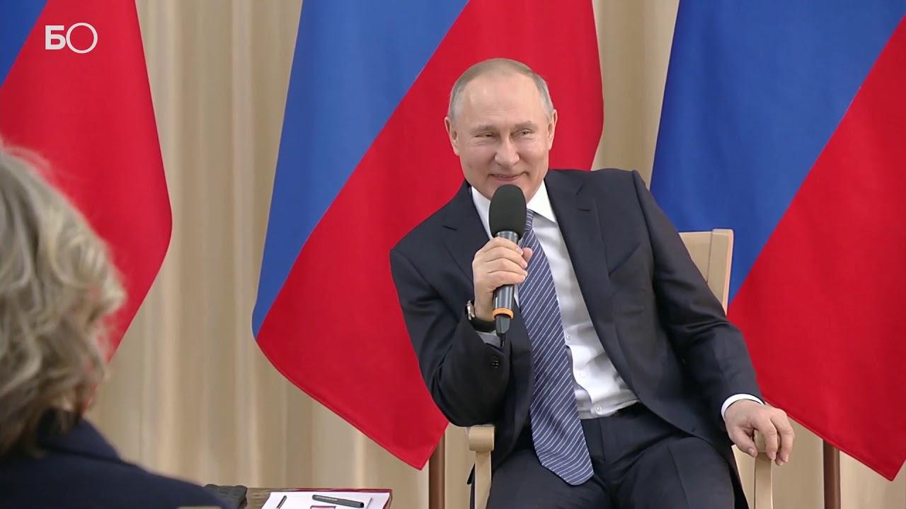 Путин: «Малый и средний бизнес находятся в сложном положении»