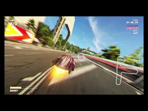 Fast RMX - Time Attack Mode - Mori Park (Subsonic) - 2:45.94