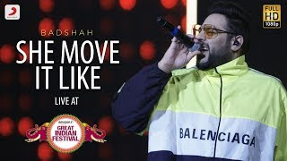She Move It Like - Live @ Amazon Great Indian Festival | Badshah | O.N.E