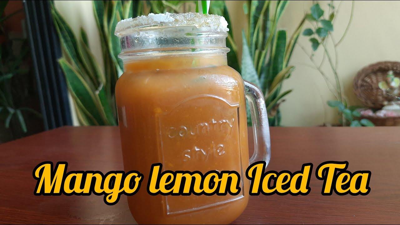 Mango Lemon Iced Tea
