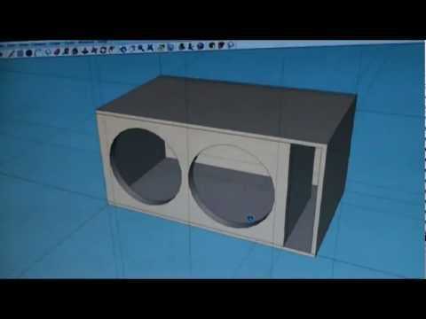 how to build a ported box for 2 15s 3
