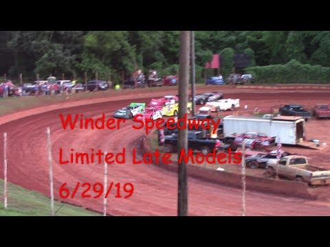 Winder Barrow Speedway Limited Late Model Feature Race  6/29/19
