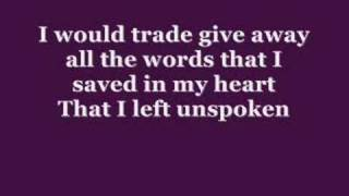 Rascal Flatts - Whats hurts the most  (+Lyrics)