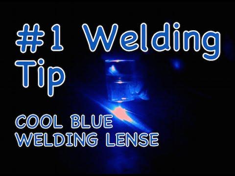 #1 Best Welding Tip - Cool Blue Lense - Metal Bender