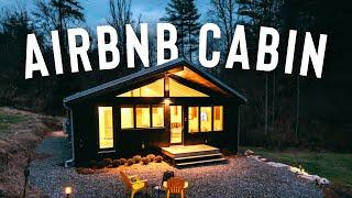 *beautiful* Airbnb Cabin Full Tour! | Romantic Cabin Getaway!