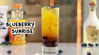 Blueberry Sunrise - Tipsy Bartender