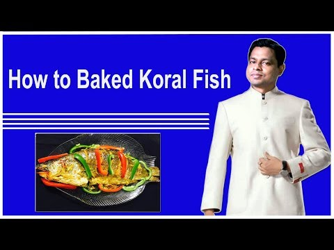 How to bake Koral Fish