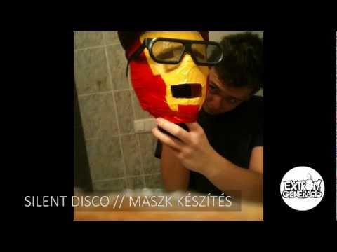 Jelmezes Silent Disco // Maszk készítés