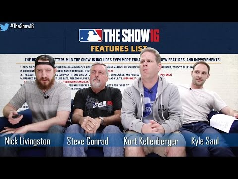 MLB The Show 16 Sounds of the Show, COTW 3.0 and More! | Developer Livestream