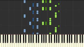 Video Chinese New Year Theme | Piano Tutorial for Synthesia download MP3, 3GP, MP4, WEBM, AVI, FLV Agustus 2018