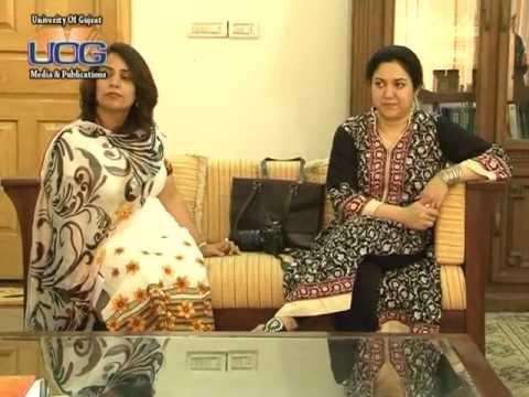 Visit of US Consul General Nina Maria Fite to University of Gujrat.mpg