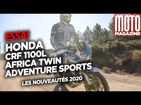 HONDA AFRICA TWIN 1100 ADVENTURE SPORTS - ESSAI Moto Magazine