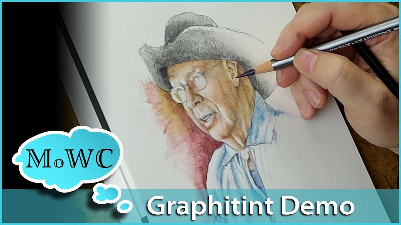 Derwent Graphitint Watercolor Pencil Review