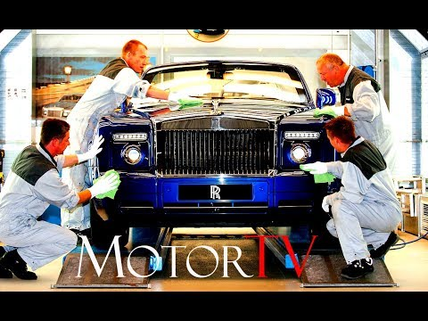 CAR FACTORY : ROLLS-ROYCE PHANTOM / GHOST /WRAITH PRODUCTION (NO MUSIC) l Goodwood plant (UK)