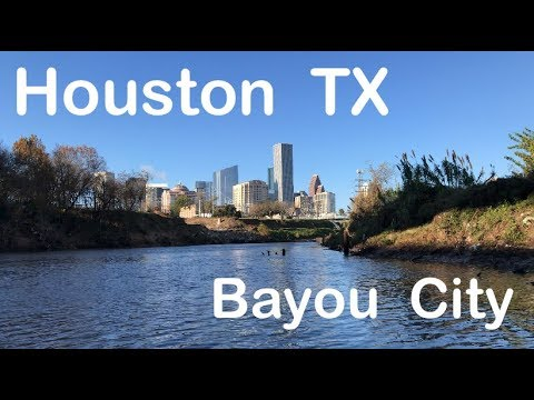 Kayak Fishing Downtown Houston Texas