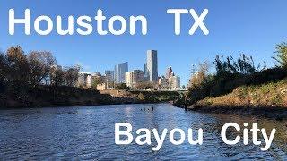 Kayak Fishing Downtown Houston Texas