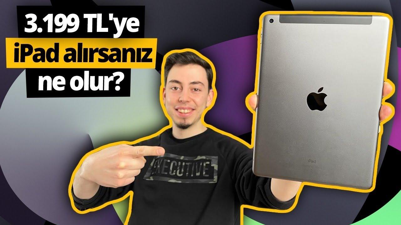 3.199 TL'ye satılan 8. nesil iPad inceleme!