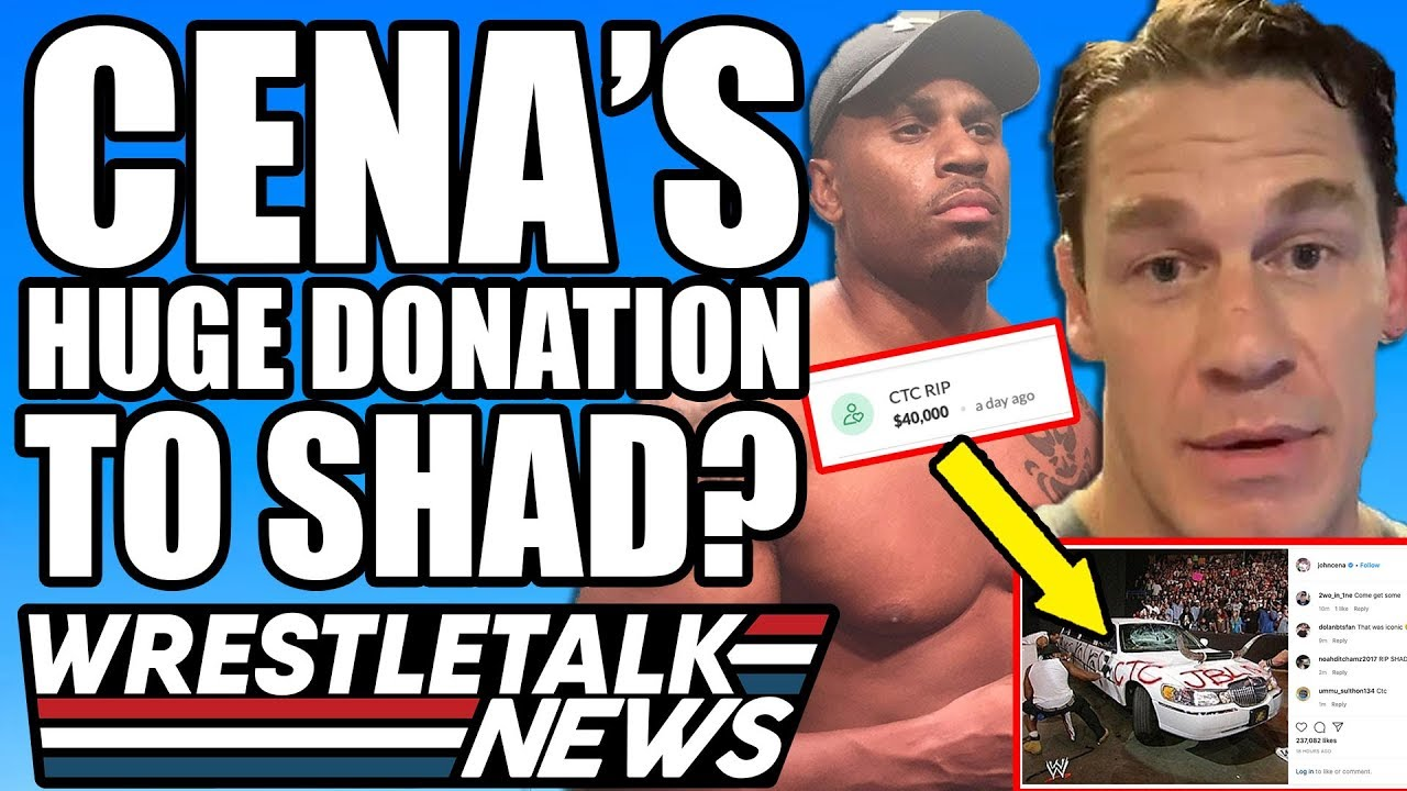 John Cena is the reported $40k donor to Shad Gaspard's family' with ...