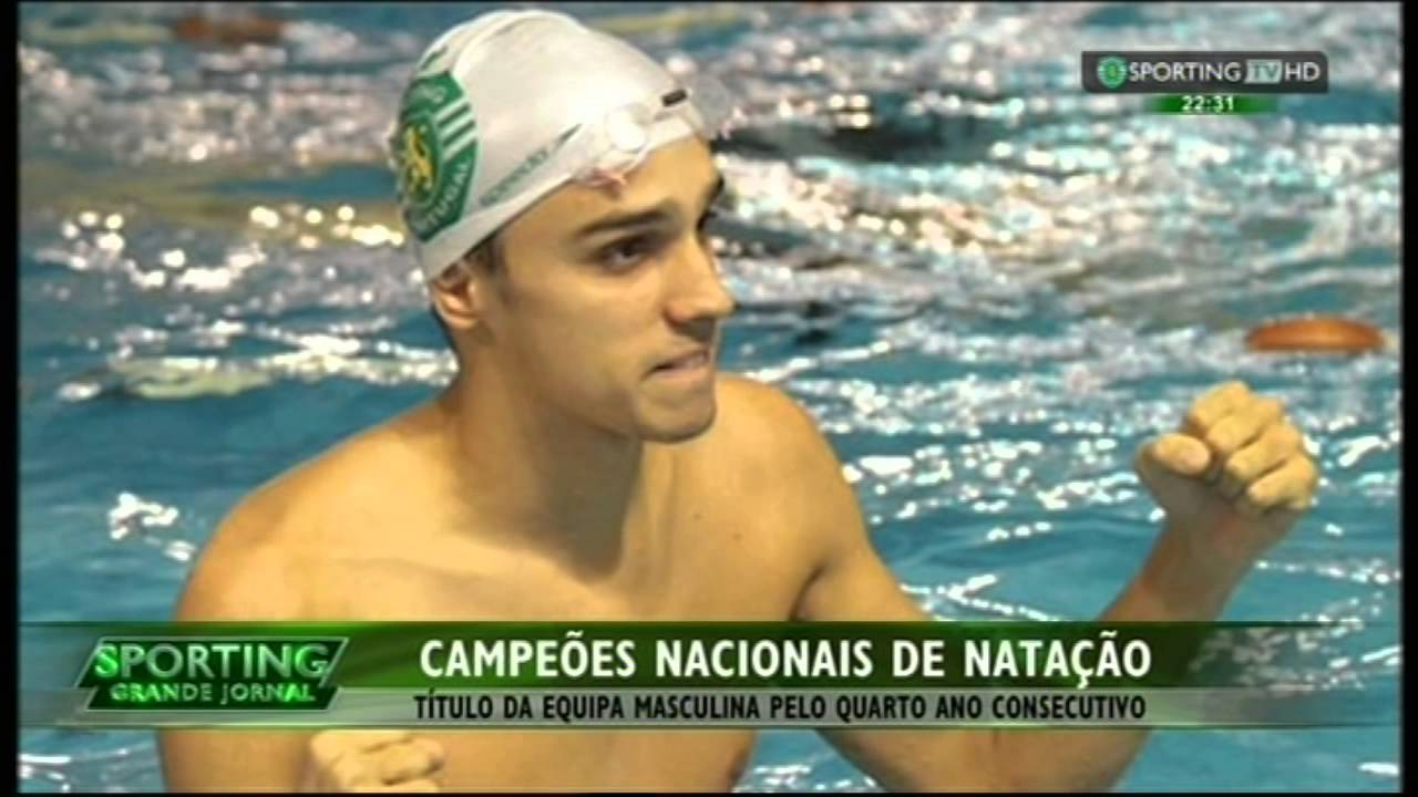 Natação :: Sporting Campeão Nacional de Natação em 2015