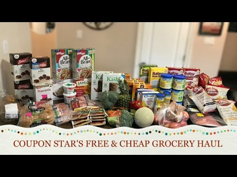 FREE & CHEAP GROCERY HAUL - March 10th 2017 - COUPONING IN CANADA!