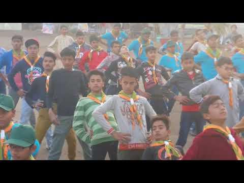 Scouts of al Jawwad secondary school