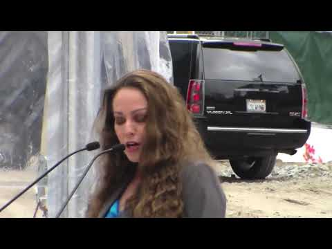 Maria Ayerdi Kaplan TJPA Developer Speech At SF Salesforce Tower Groundbreaking