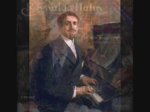 "RARE PIANO MUSIC: REYNALDO HAHN - ""PAINED MUSINGS"""