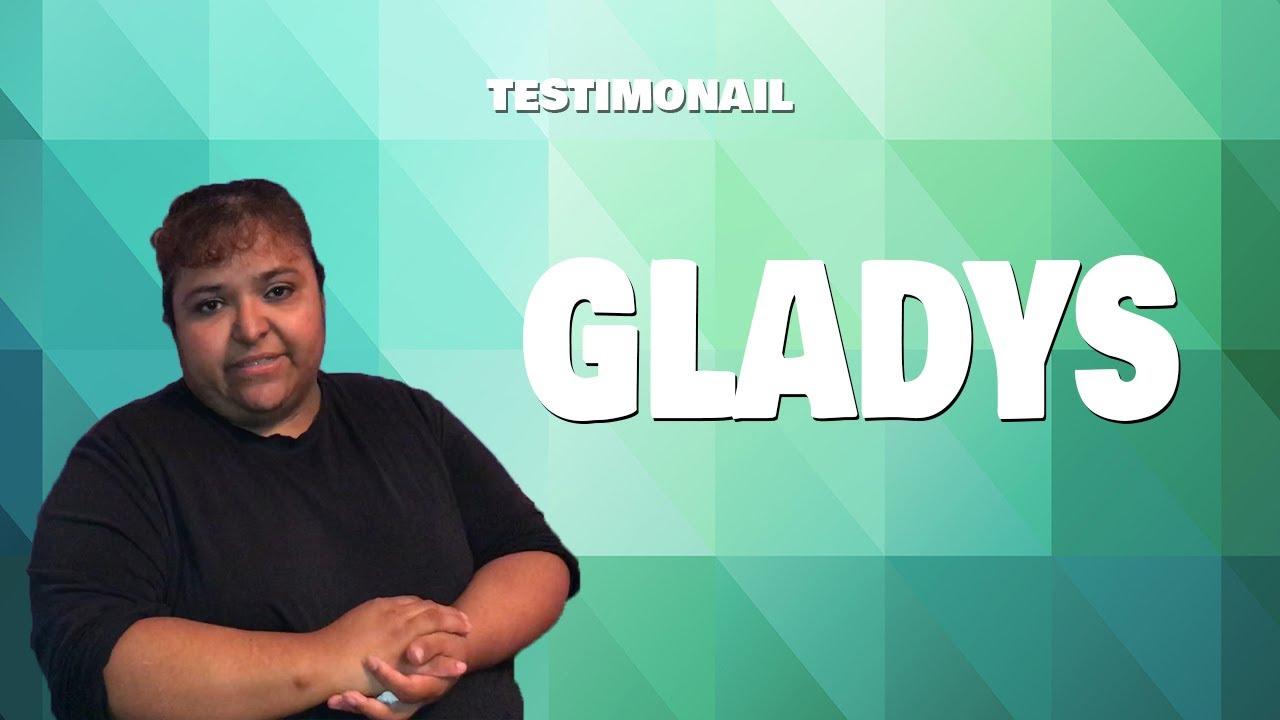 Testimonial Gladys from Toronto