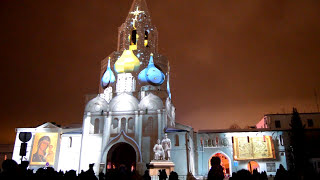Новый год 2019. Казань. Кремль. Световое шоу
