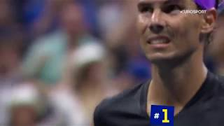 Даниил Медведев - Рафаэль Надаль. 5 лучших моментов финала US Open-2019