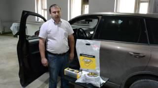 Защита от угона VW Touareg: блокиратор КПП Dragon