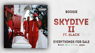 Boogie - Skydive II Ft. 6LACK (Everythings For Sale)