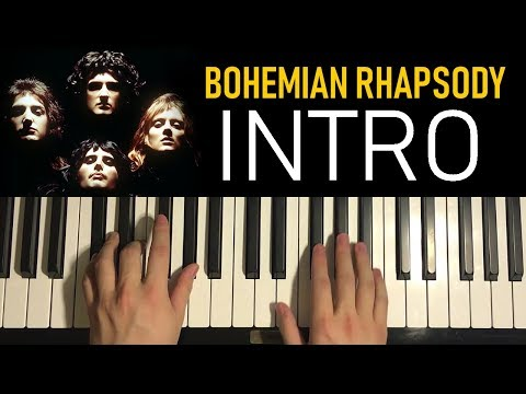HOW TO PLAY – Bohemian Rhapsody – by Queen (Piano Tutorial Lesson) [PART 1]