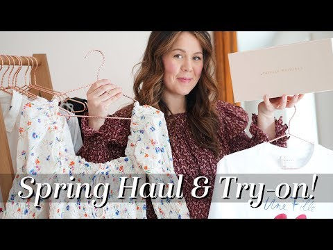 ff942e8d52864 Spring Haul! New-in & What I got in NYC! Doen, Madewell, & Hatch | Kait Bos  - YouTube
