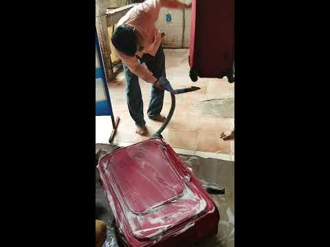 Luggage bag cleaning in Ahmedabad - Magic Duster - Call 9408870252 - www.mysofacleaner.com