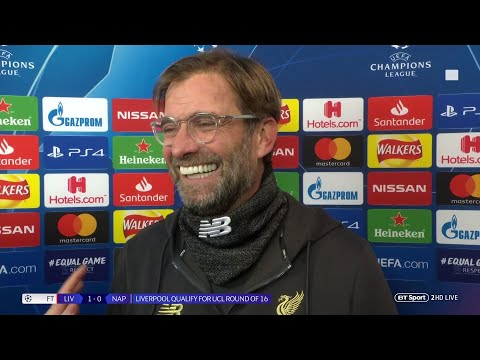 """""""I have no idea how Alisson made that save!"""" Jurgen Klopp delighted after Liverpool beat Napoli"""