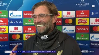 """I have no idea how Alisson made that save!"" Jurgen Klopp delighted after Liverpool beat Napoli"