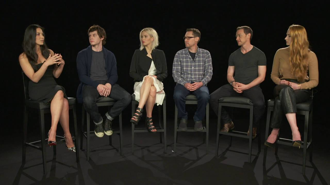 X Men Cast X-Men: Apocalyp...