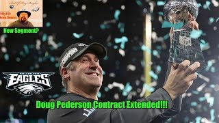 Eagles Pick Up Option On The Real Coach Of The Year Doug Pederson!!! Movie Classics EP 1 Replay